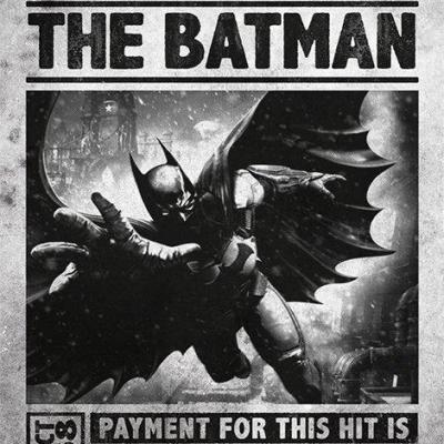 Batman poster 61x91 arkham origins wanted