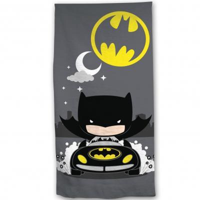 Batman serviette de plage 100 microfibre 70x140cm chibi