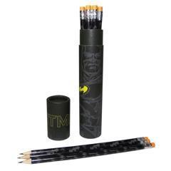 Batman tube 12 crayons