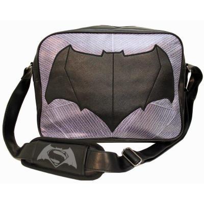 Batman vs superman messenger bag batman logo