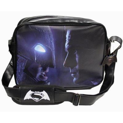 Batman vs superman messenger bag face to face