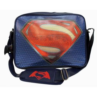 Batman vs superman messenger bag superman logo