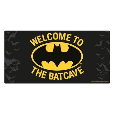 Batman welcome to the batcave plaque en metal