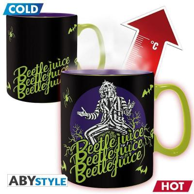 Beetlejuice mug thermoreactif 460 ml