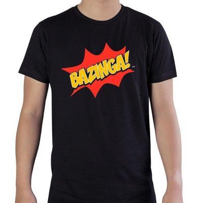 Big bang theory bazinga t shirt homme