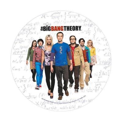 Big bang theory casting tapis de souris 21 5cm