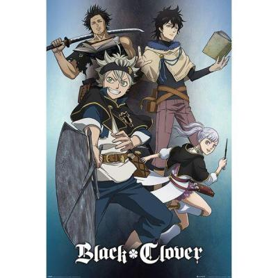 Black clover poster 61x91 magic