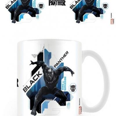 Black panther pounce mug 315ml