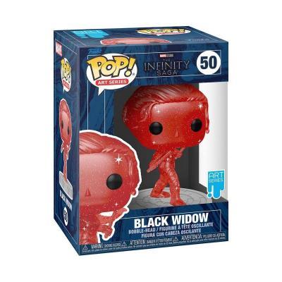 Black widow funko pop n 50 artist series marvel