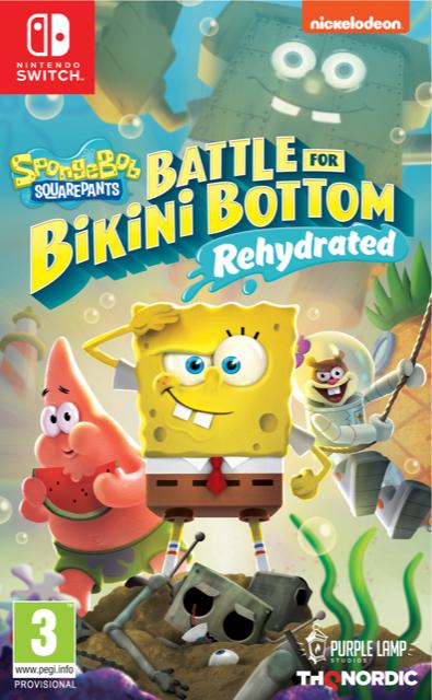 Bob l eponge bataille pour bikini bottom rehydrate 1