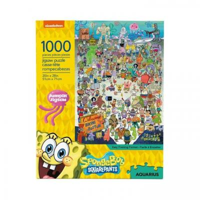 Bob l eponge cast puzzle 1000p