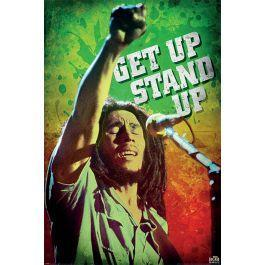Bob marley get up stand up poster 61x91cm 2