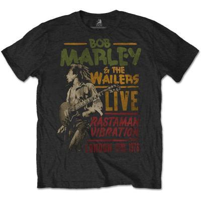 Bob marley t shirt rwc rastaman vibration 1976