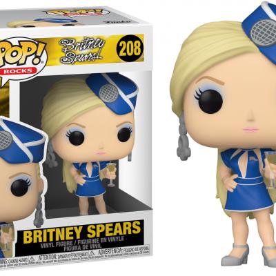 Britney spears bobble head pop n 208 stewardess