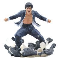 Bruce lee statuette earth 23cm