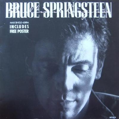 Bruce springsteen maxi 45t brilliant disguise