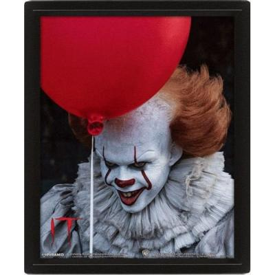 Ca 3d lenticular poster 26x20 pennywise evil 1