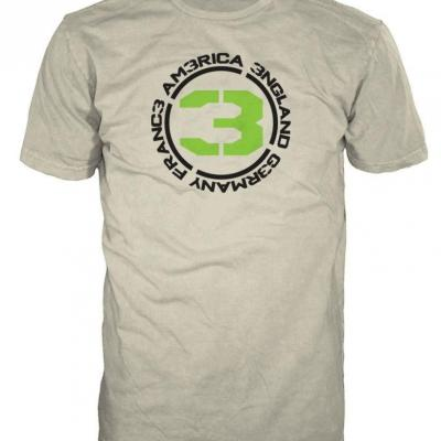 Call of duty mw3 t shirt sand countries 3