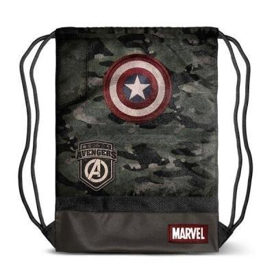 Captain america army sac de sport 48x35