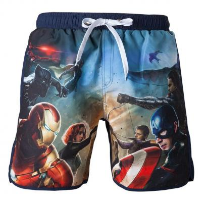 Captain america civil war theme swimshort