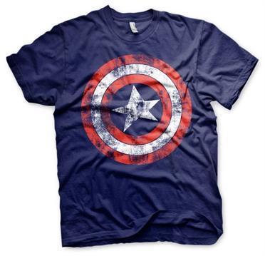 Captain america shield t shirt