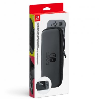 Carry case screen protector