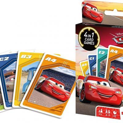 Cars jeu de cartes 4 en 1