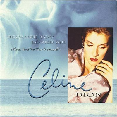 Celine dion because you loved me cd single occasion