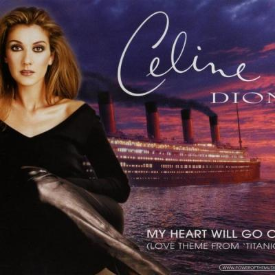Celine dion my heart will go on cd single occasion