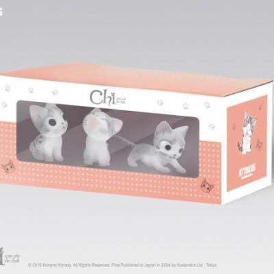 Chi box de 3 figurines n 1 4cm
