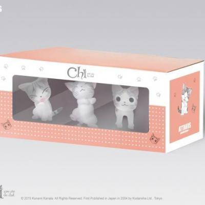 Chi box de 3 figurines n 2 4cm