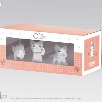 Chi box de 3 figurines n 3 4cm