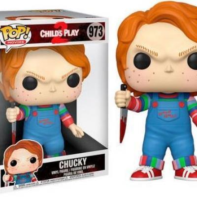 Child s play 2 bobble head pop n 973 chucky 10 super sized