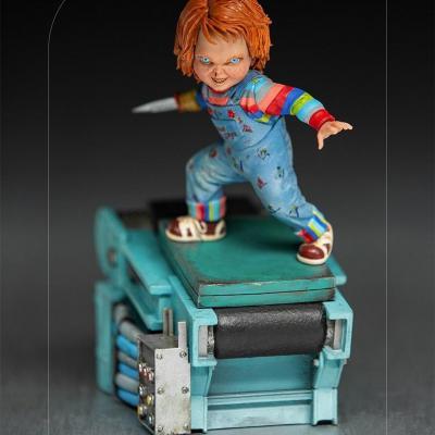 Child s play ii chucky statuette art scale 15x8x12cm