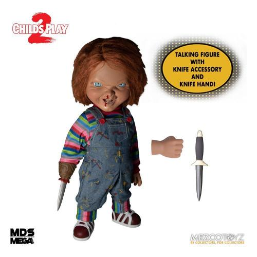 Chucky child s play 2 poupee parlante designer series 38cm