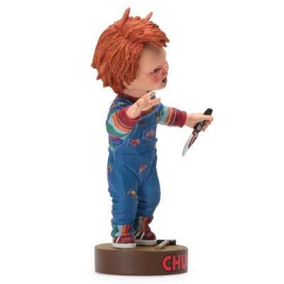 Chucky child s play knocker chucky with knife 18cm