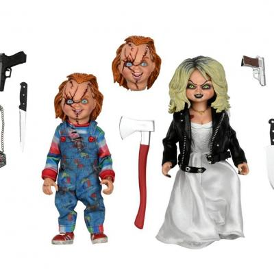 Chucky clothed chucky tiffany figurined articulee 14cm