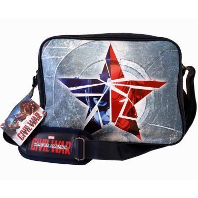 Civil wars messenger bag broken star