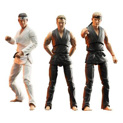 Cobra kai assortiments de 3 figurines select 18cm