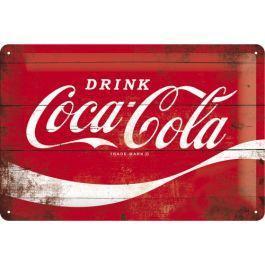 Coca cola wave plaque metal 20x30cm