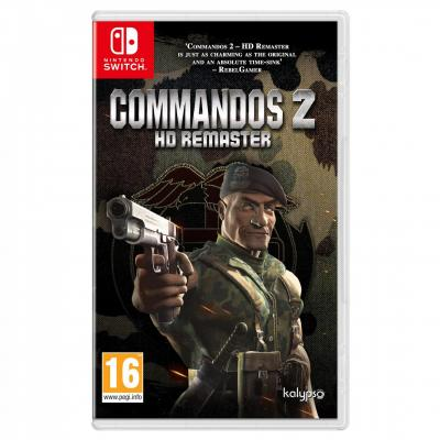 Commandos 2 hd remaster nintendo switch edition box uk