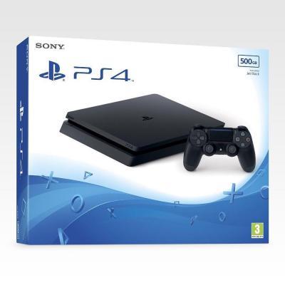 Console ps4 slim 500 gb black