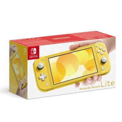 Console switch lite yellow