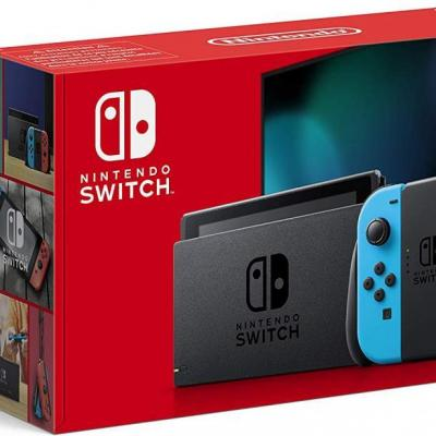 Console switch red blue