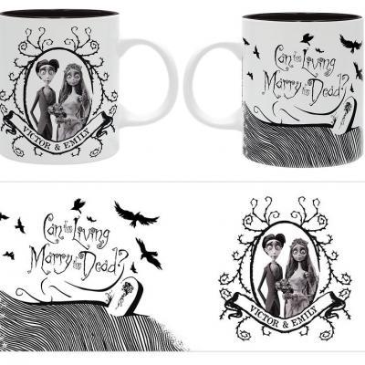 Corpse bride victor emily mug 320ml