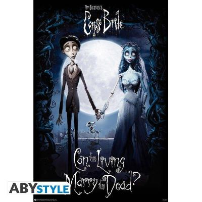 Corpse bride victor emily poster 91x61cm