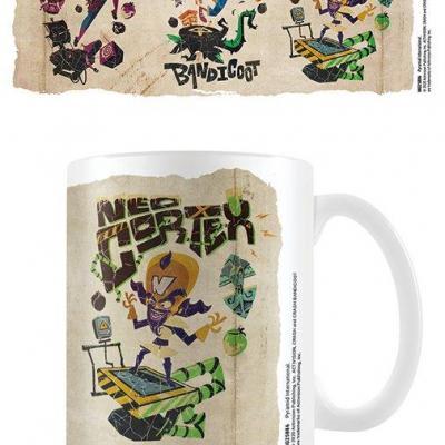 Crash bandicoot 4 parch mental mug 315ml