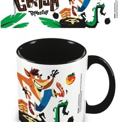 Crash bandicoot 4 ridonkulous mug interieur colore 315ml