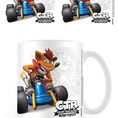 Crash bandicoot crash emblem mug 315ml