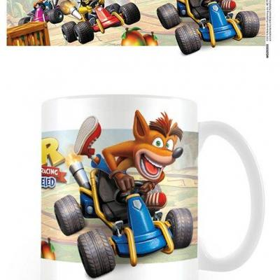 Crash bandicoot ctr fight for first place mug 315ml